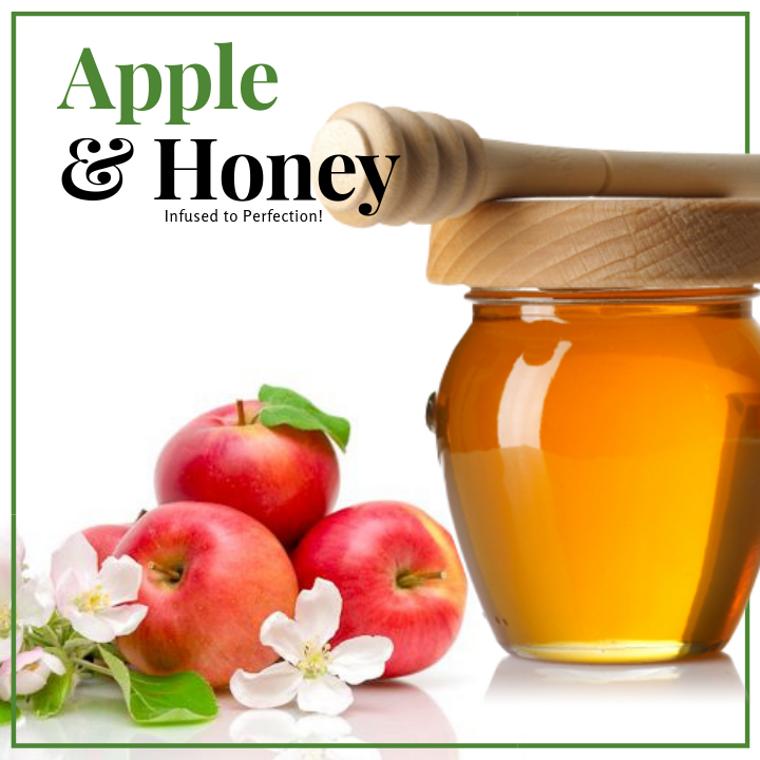1 LB Apple Infused Honey
