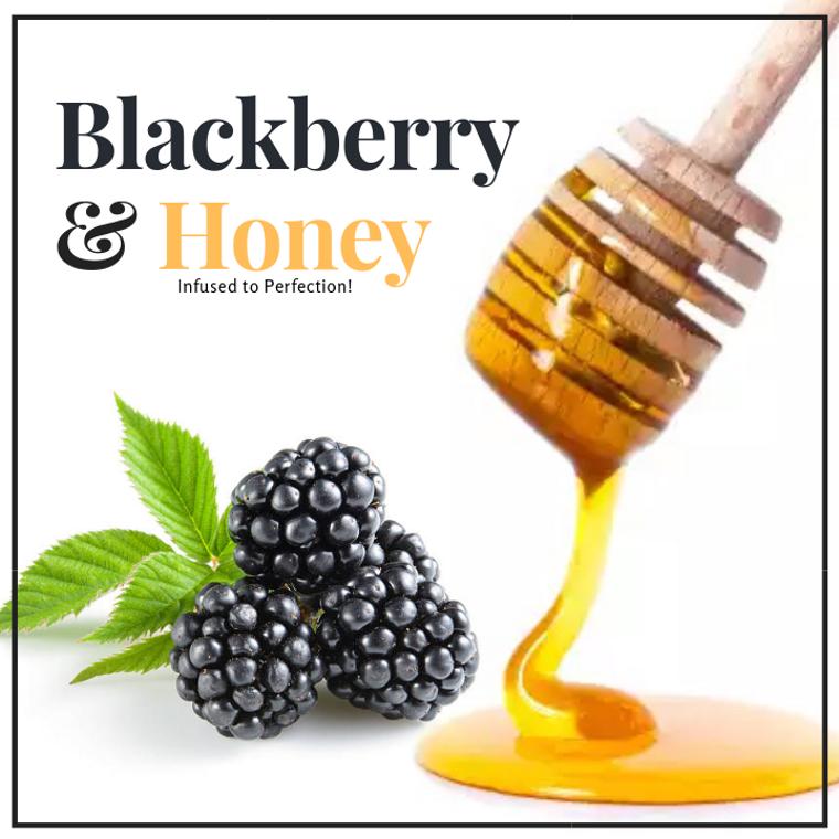 1 LB Blackberry Infused Honey