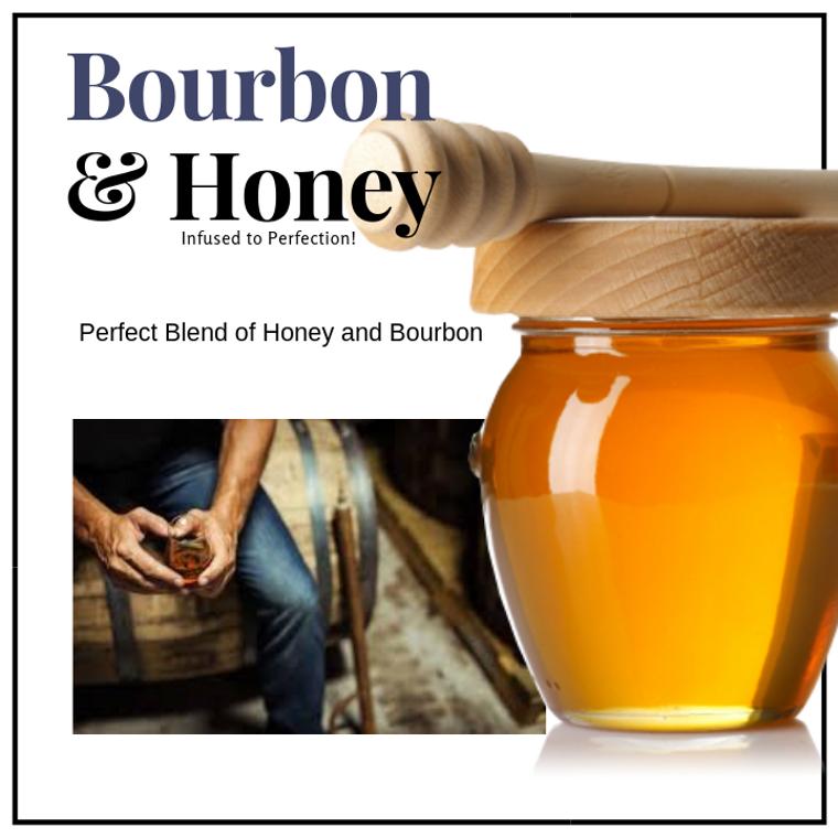 1 LB Bourbon Honey