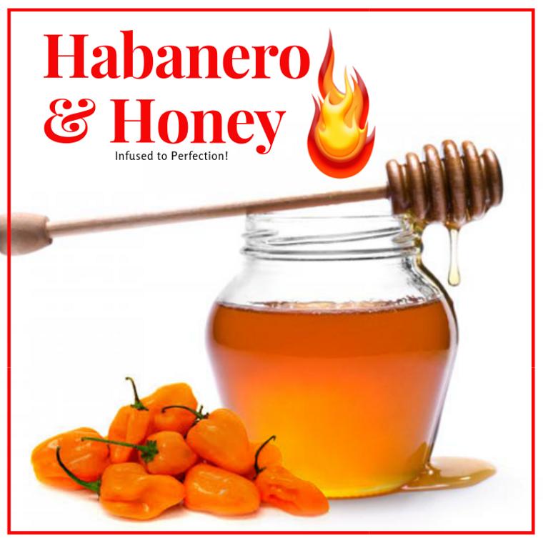 1 LB Habanero  Infused Honey