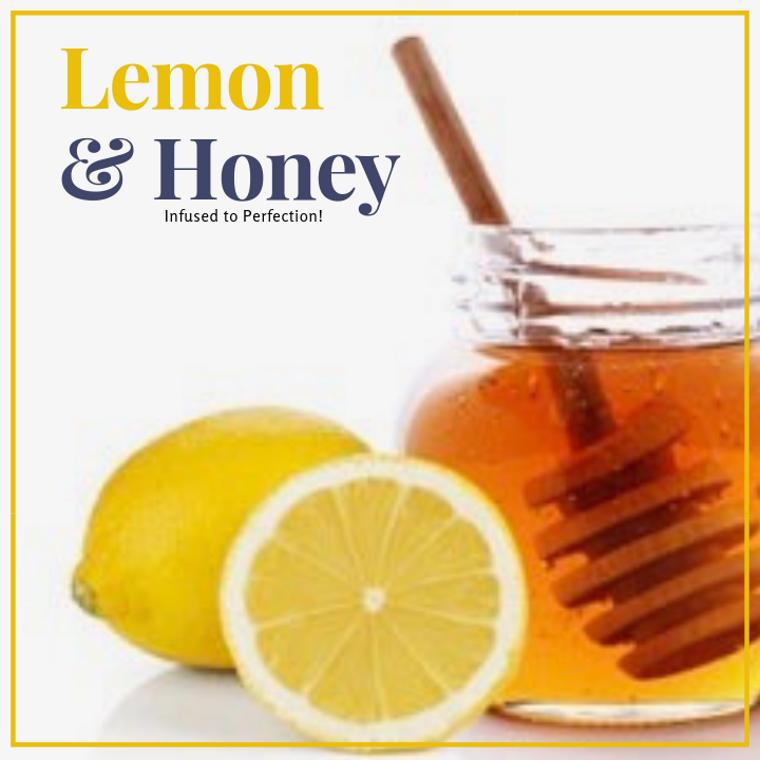 1 LB Lemon Infused Honey