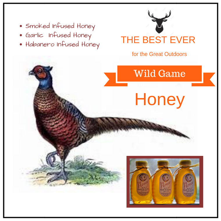 Wild Game Infused Honey Set