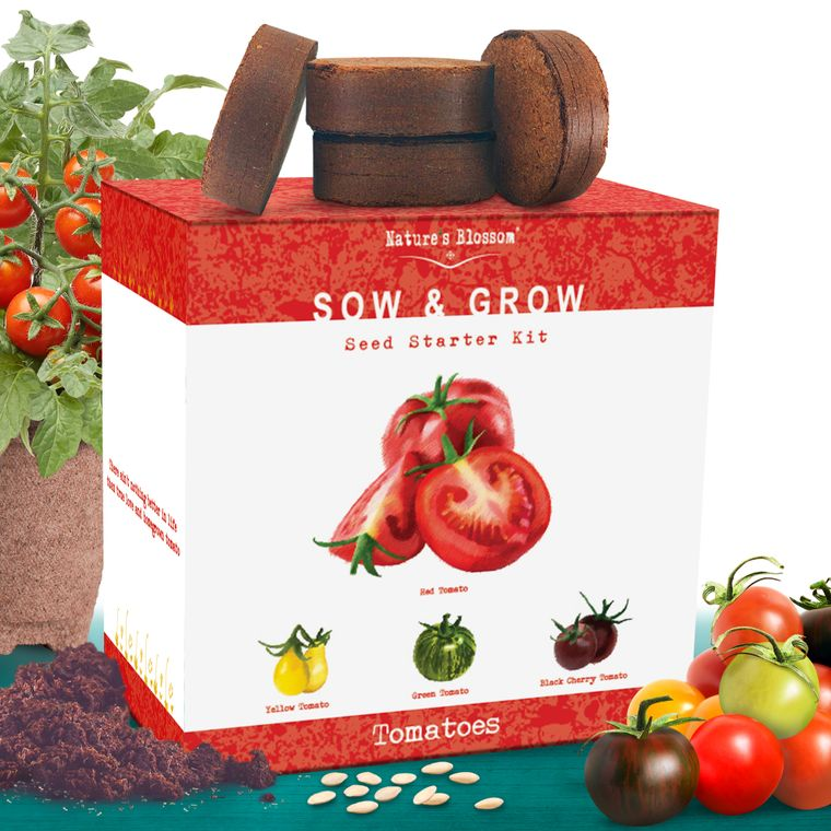 Nature's Blossom Tomato Garden Kit