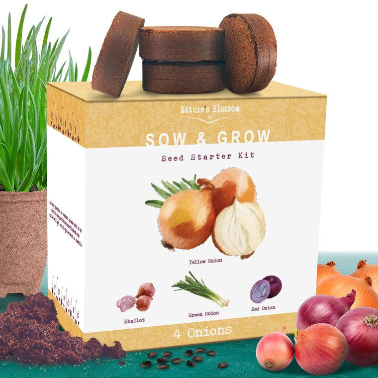 Nature's Blossom Onion Growing Kit