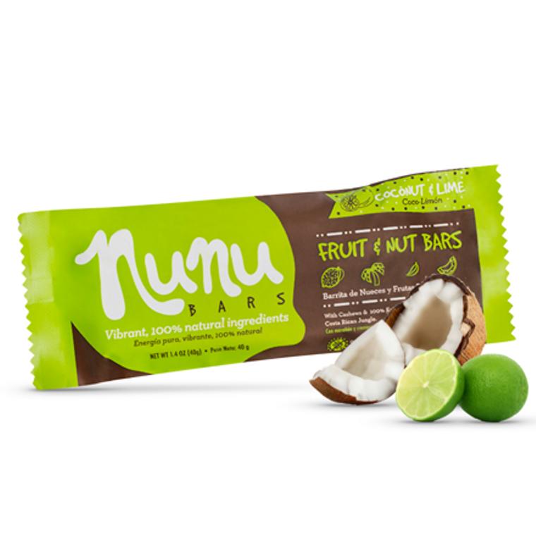 Nunu Bar Coconut & Lime