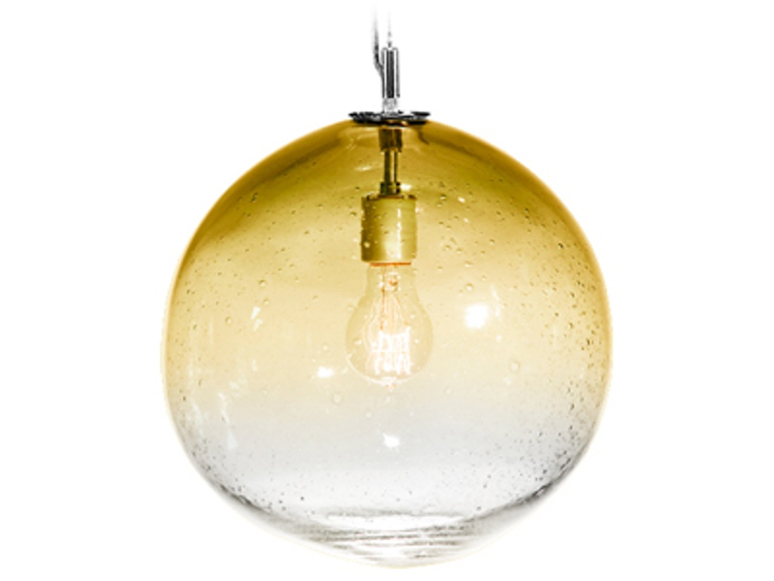 Fizz Collection Solaris Pendant Amber