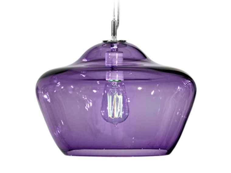 Vesuvius Collection Aura Pendant Blue Lilac