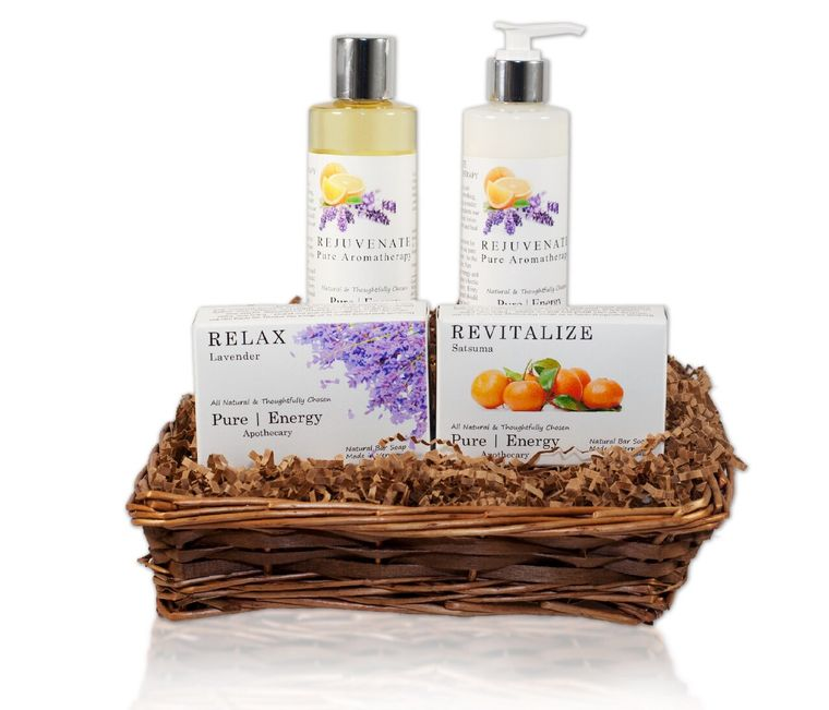 Daily Delight Gift Basket (Pure Aromatherapy)
