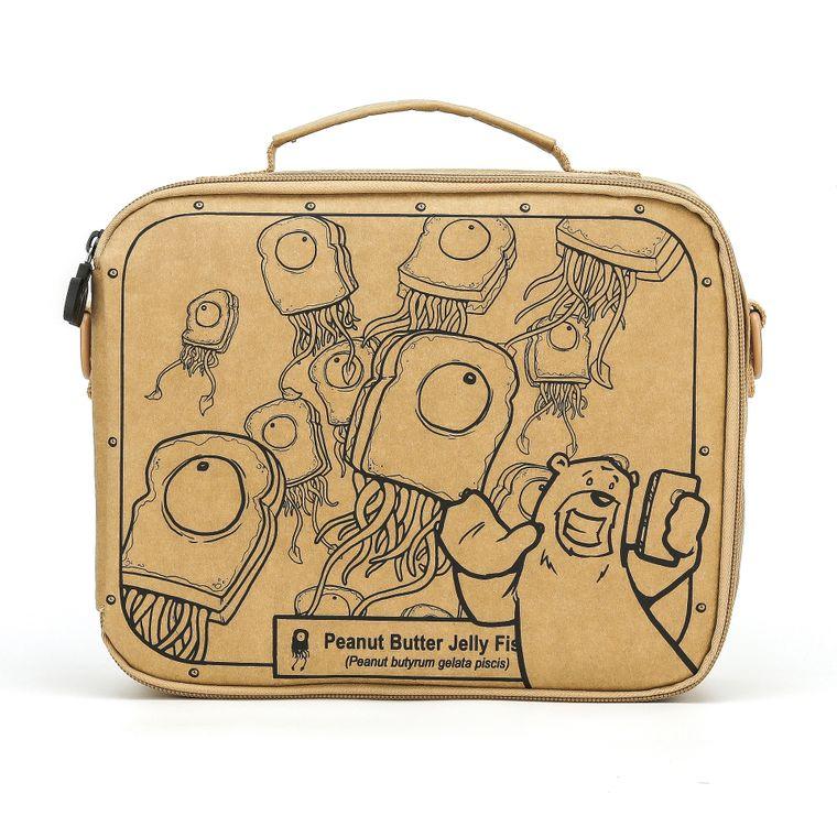 LunchKraft® Lunchbox (PB & Jelly Fish)