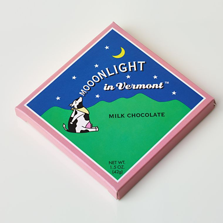 Mooonlight in Vermont Chocolate Bar - Milk
