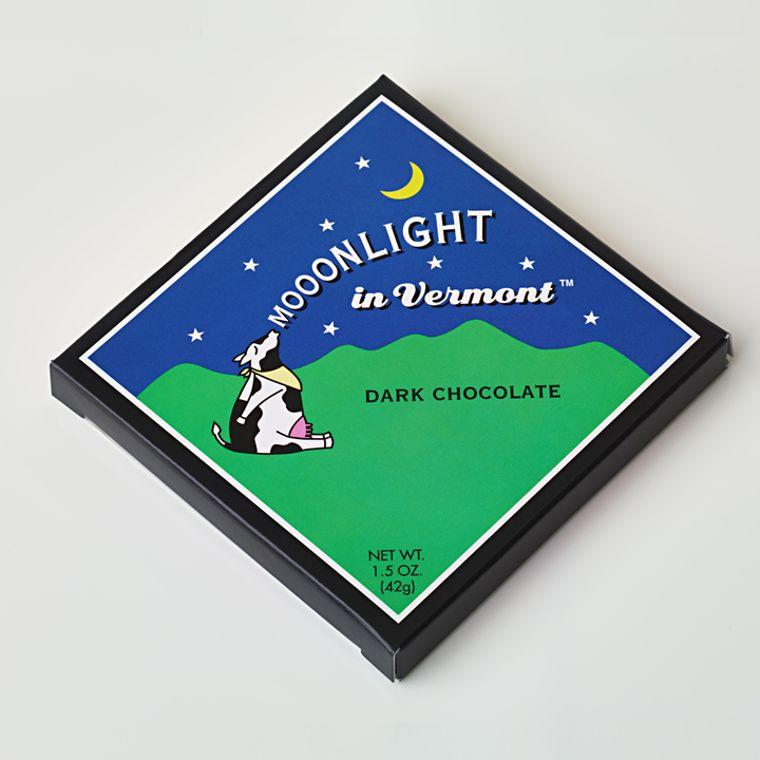 Mooonlight in Vermont Chocolate Bar - Dark