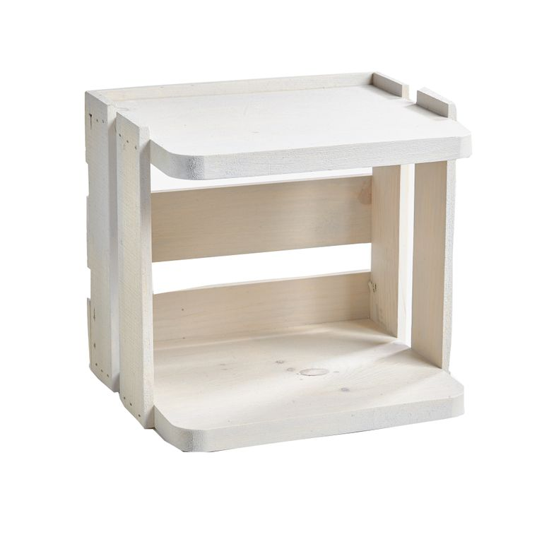 DISPLAY ONLY - Shabby Chic Crate
