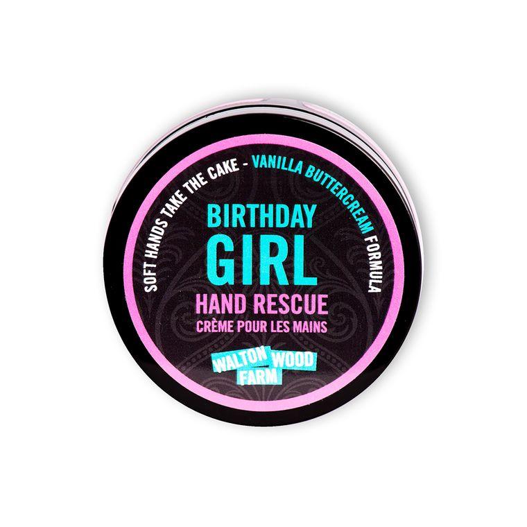 Birthday Girl Hand Rescue 4oz