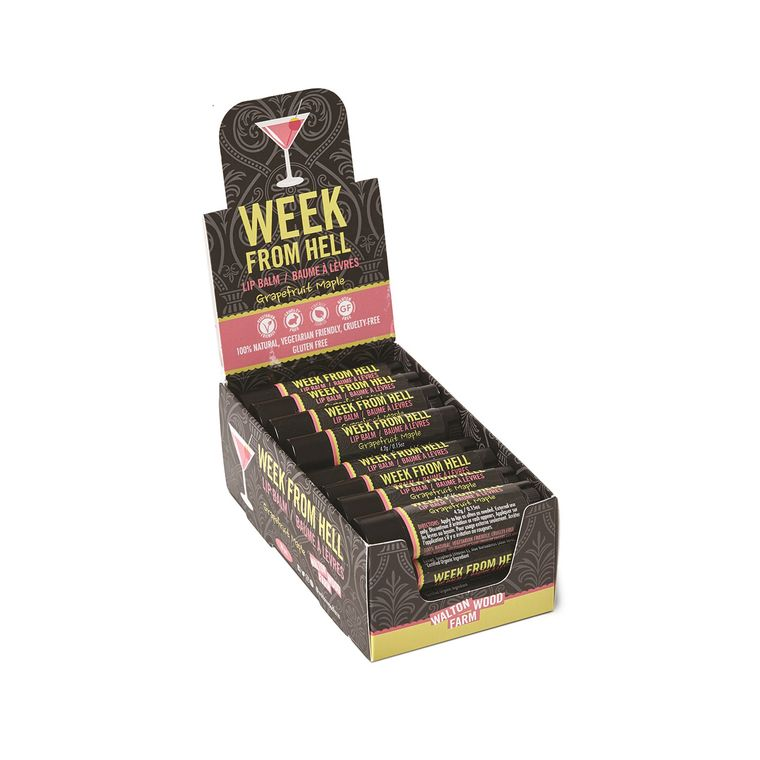 Week From Hell Lip Balm 20pc