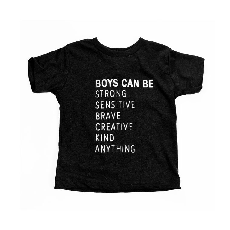 Boys Can Be Toddler Tee