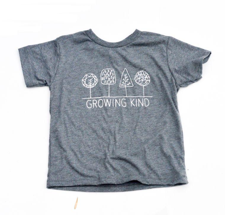 Growing Kind Toddler Tee (Heathered Grey)