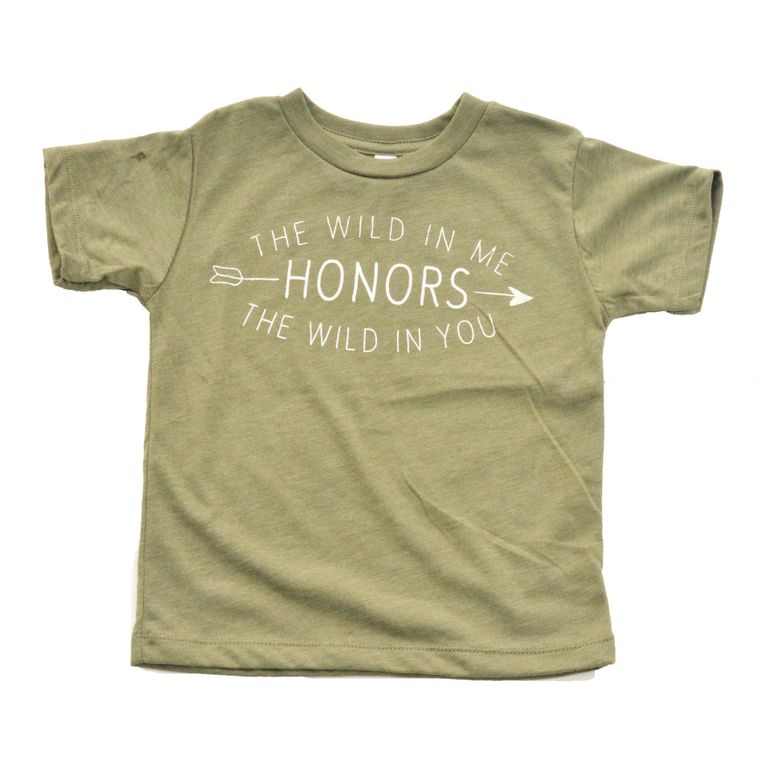 The Wild in Me Toddler Tee