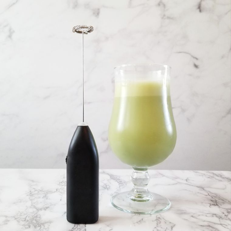 Portable Electric Superfood Whisk (Wireless w/ Batteries)