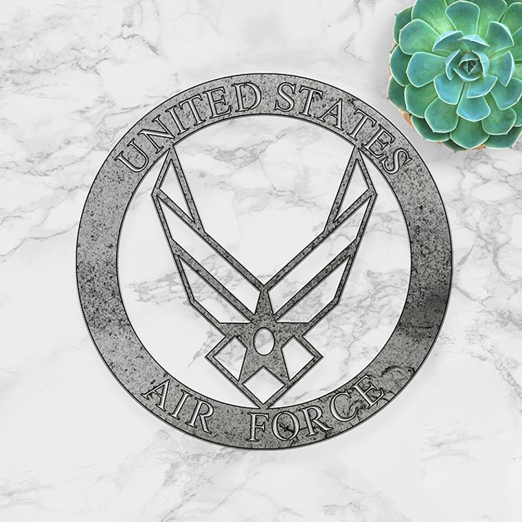 Air Force Emblem in Metal