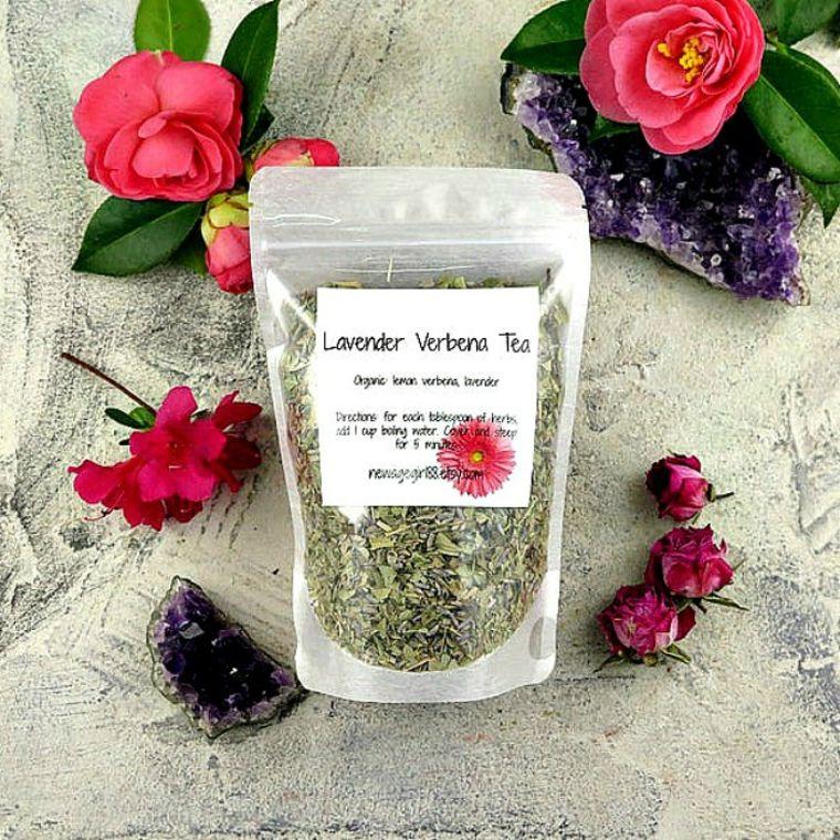 Lavender Verbena Tea