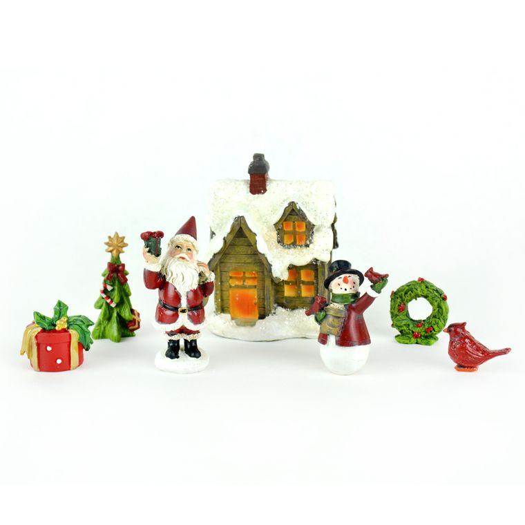 Christmas Miniature Garden Kit