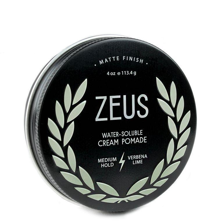 Zeus Cream Pomade Medium Hold Verbena Lime