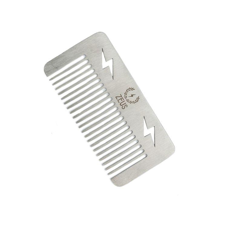 Zeus Stainless Steel Pocket Size Comb