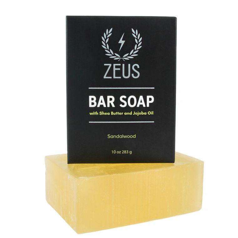 Zeus Bar Soap, Sandalwood