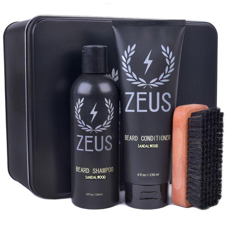 Zeus Beard Care Set, Sandalwood