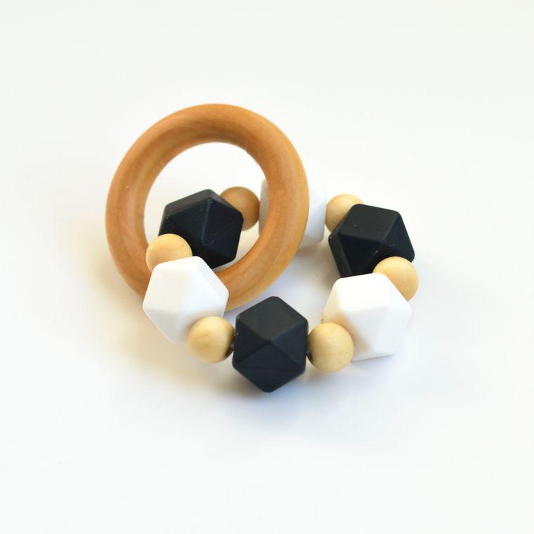 Hexi Teething Ring BWC