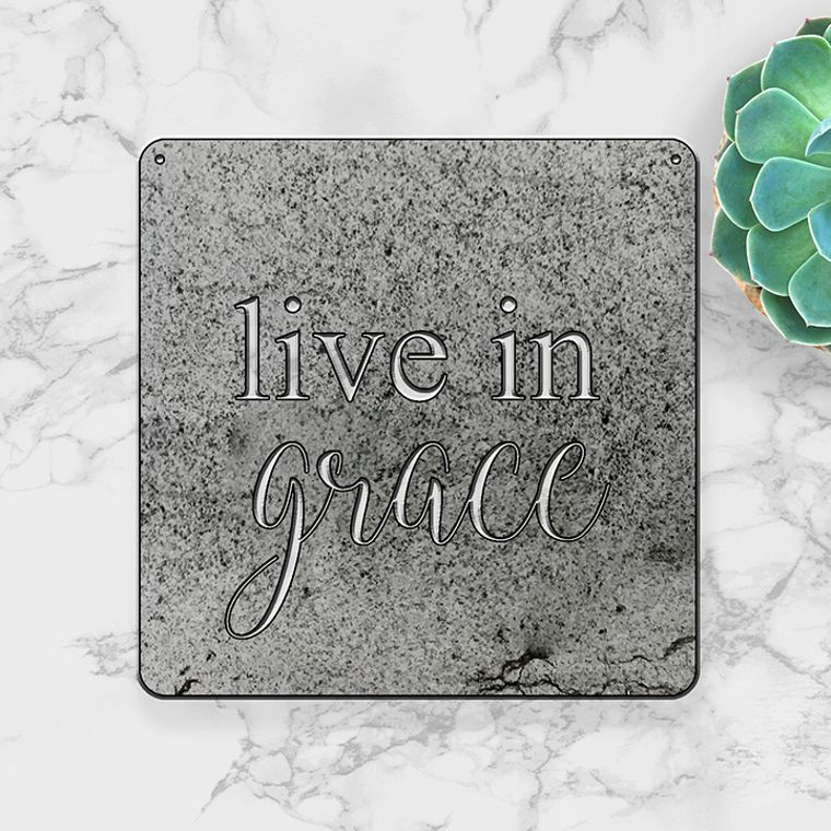 Live in Grace (Small)