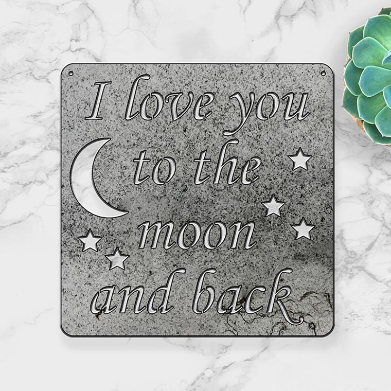 I Love You to the Moon and Stars (Large)