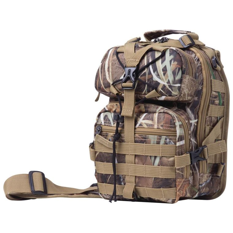 "11"" Camo Sling Backpack"