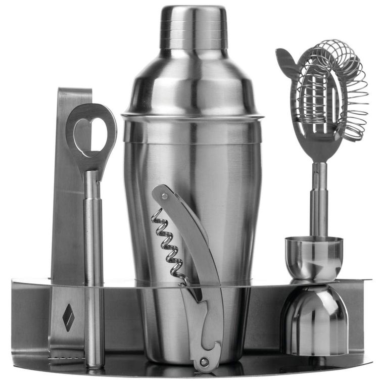 Wyndham House 7pc Stainless Steel Bar Set