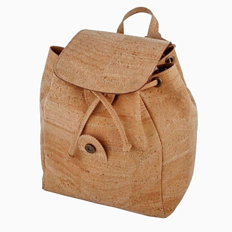 Natural Cork Vegan Backpack