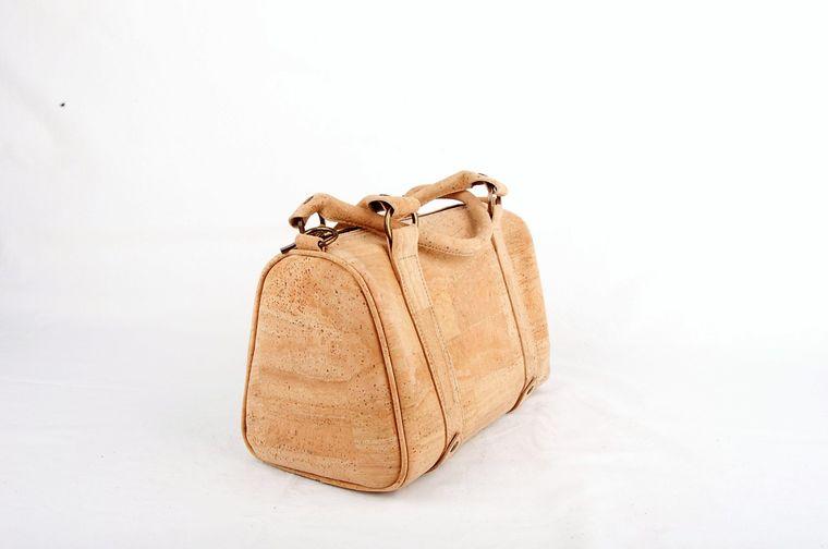 Natural Cork Vegan Doctor Bag Shoulder Strap