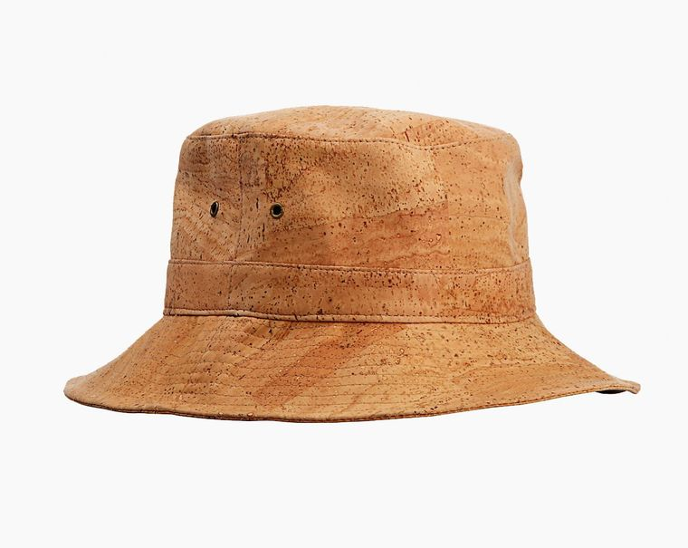 The Porland Hat - Natural Cork Waterproof Vegan Bucket Hat