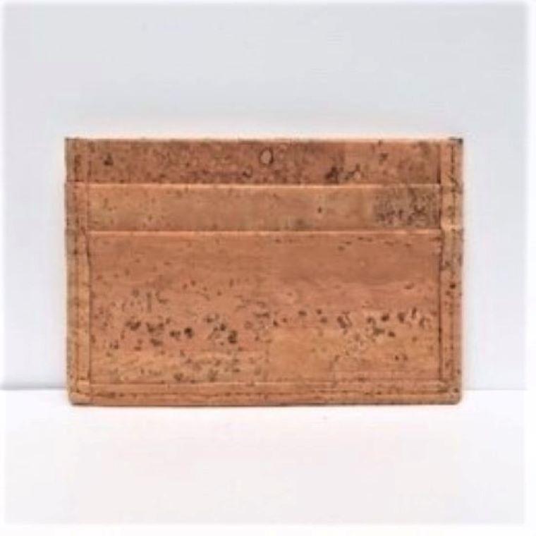 Natural Cork Card Case