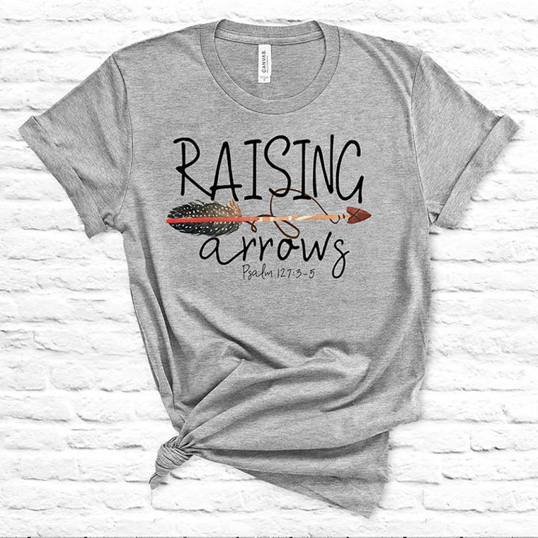 Raising Arrows Boy Mom T-shirt