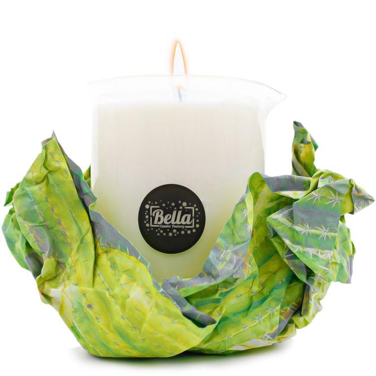 Cactus Blossom Massage Candle