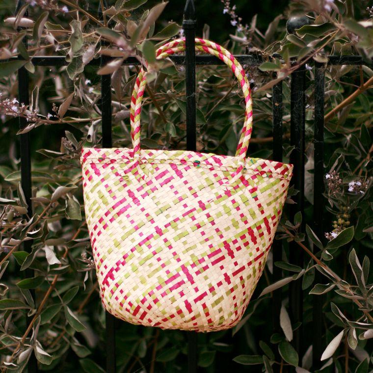 Plain Coco Palm Straw Bag - Toscana (1-3 days)