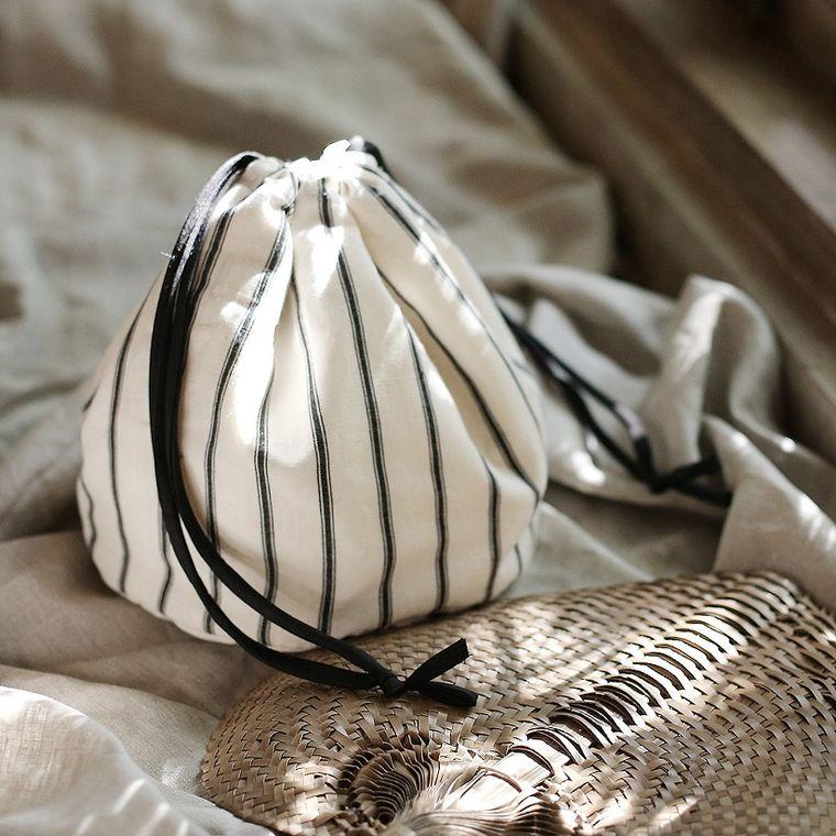 LULU Handwoven Pouch Bag - Aria