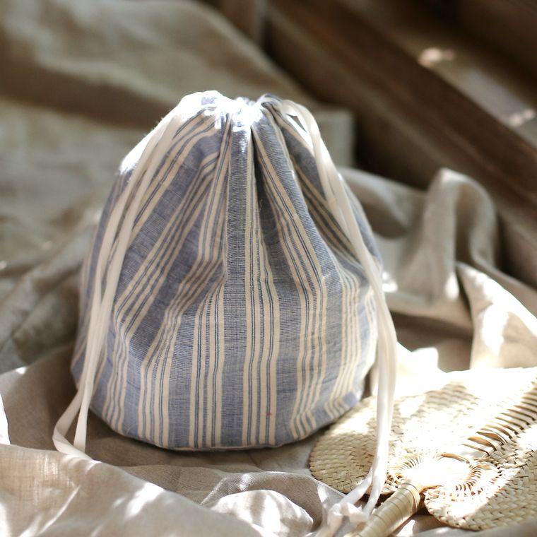 LULU Handwoven Pouch Bag, Pouch Purse - Riviera