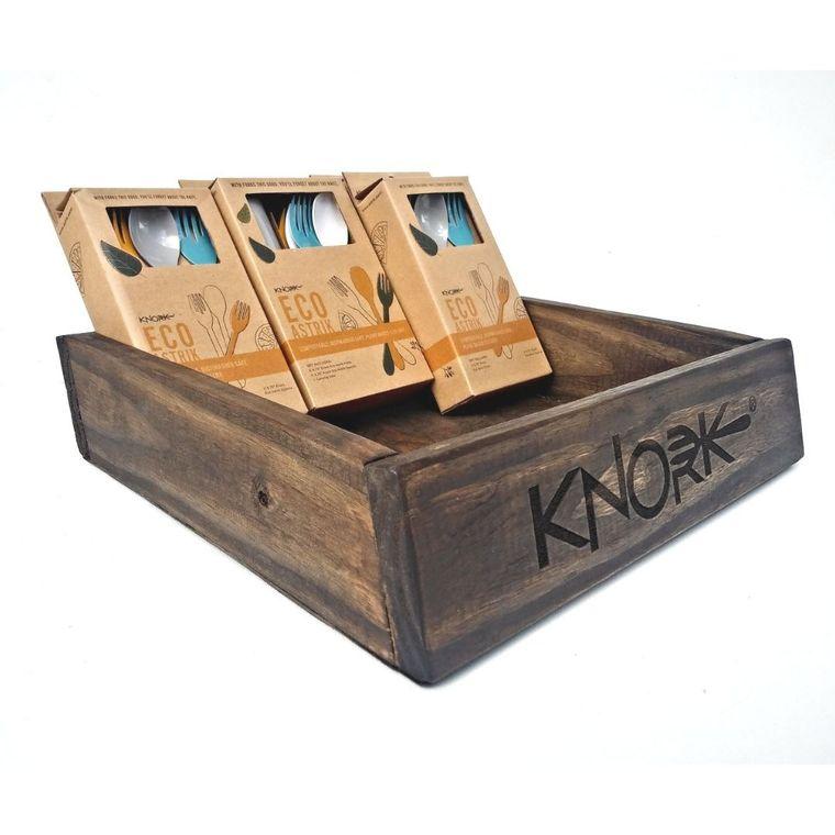 Countertop Wood Display