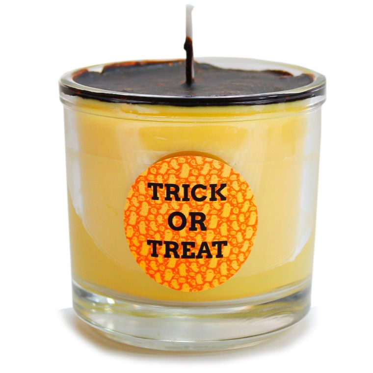 Mr Halloween Halloween candle Decor - Cappuccino Espresso