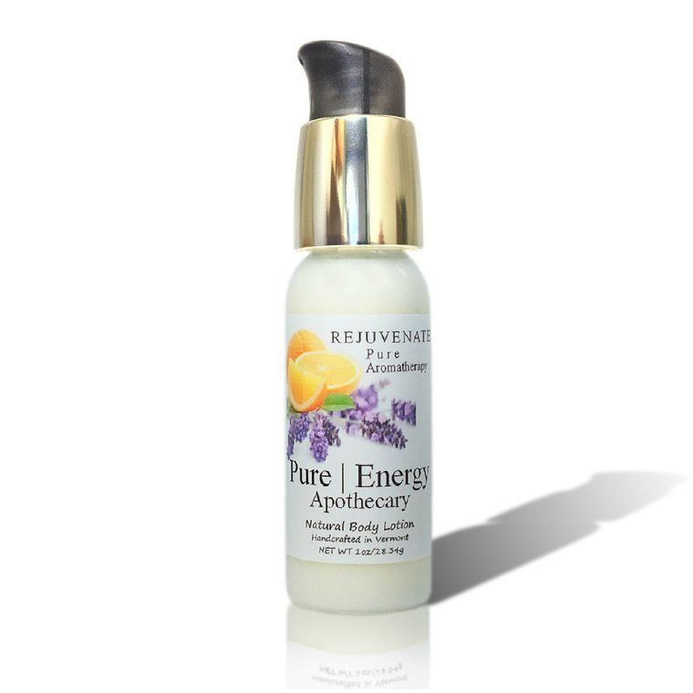PURE AROMATHERAPY 1oz Body Lotion
