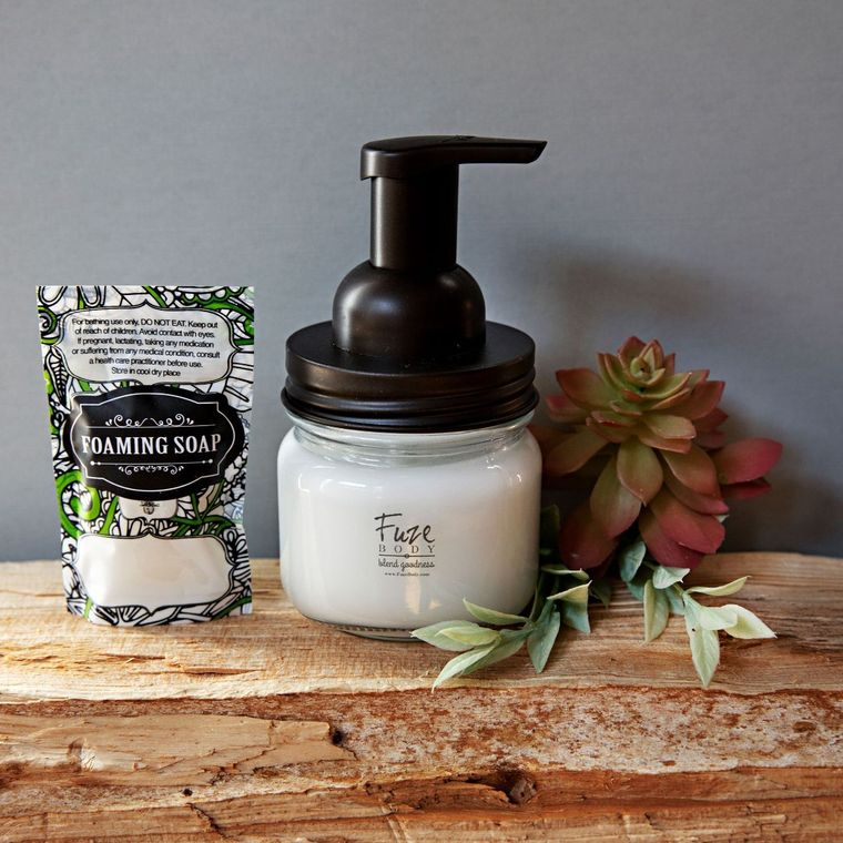 Foaming Essential Oil Hand Soap - Custom