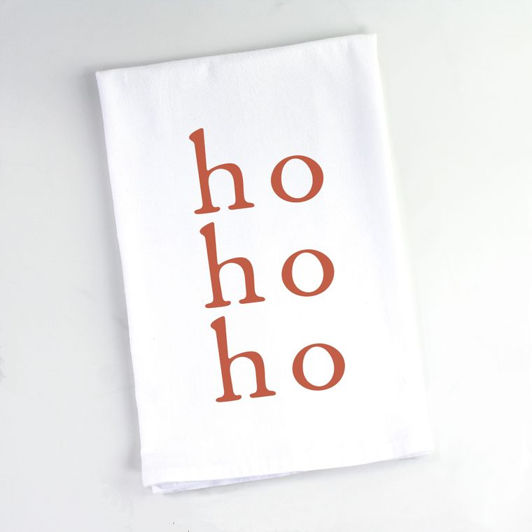 Christmas Ho Ho Ho Flour Sack Towel