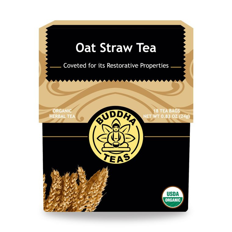 Oat Straw Tea
