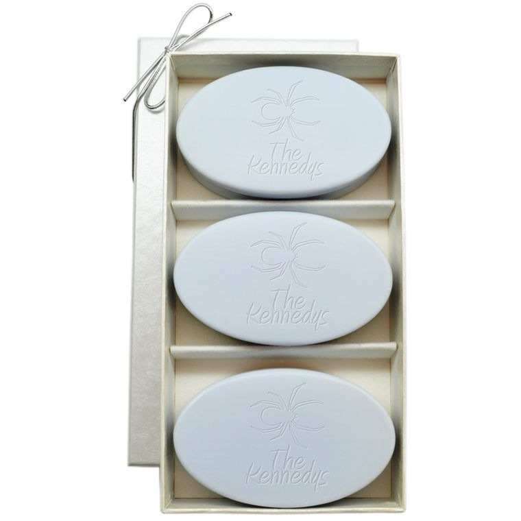 Signature Spa Trio Spider Personalized Soap Gift Set